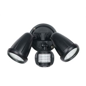 Illume Exterior Spot Twin Lights With Sensor