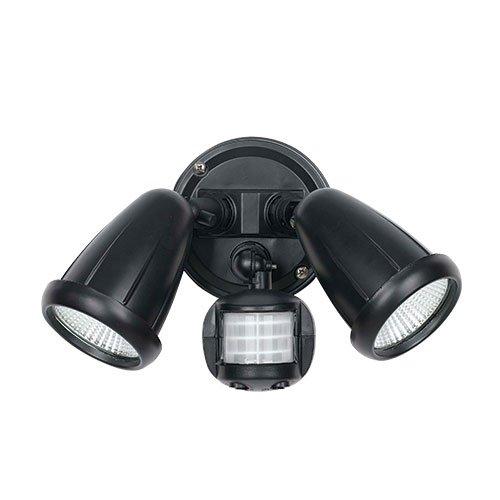 Illume Exterior Spot Twin Lights With Sensor