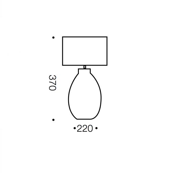 Miren Small Table Lamp