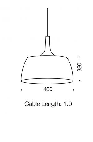 Polk Large Pendant