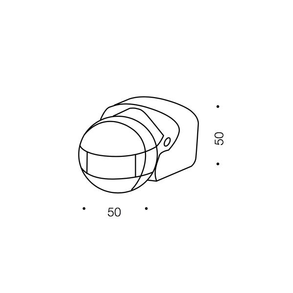 Sensor Exterior Wall Light