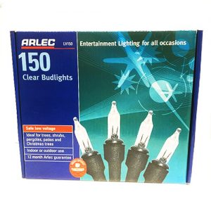 Arlec 150 Clear Budlights