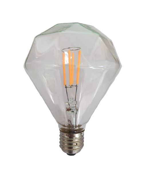 Diamond Filament Led E27 Globe