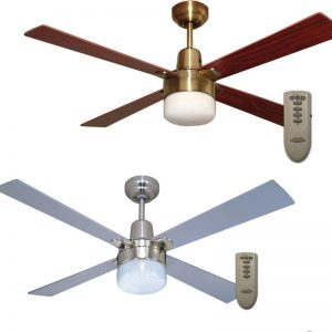 Alpha Clipper Light Ceiling Fan With Remote