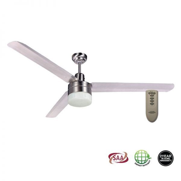 Trisera 1200 Ceiling Fan With Light And Remote