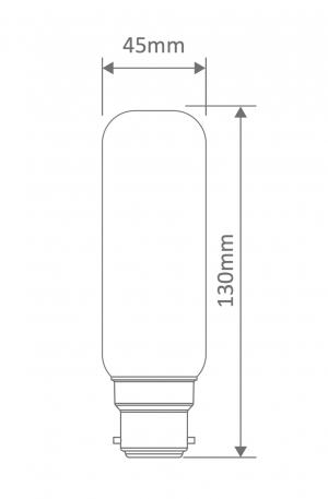 Mini Banana Carbon Filament B22 Globe