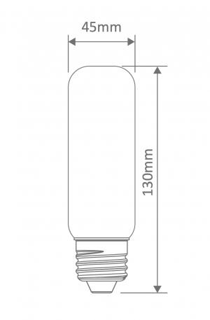 Mini Banana Carbon Filament E27 Globe