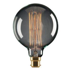 G125 Carbon Filament B22 Globe