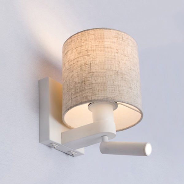 Brighton Wall Mounted Lamp With Separate Led Reading Light