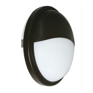 Black Exterior 20w Led Eyelid Bulkhead Lights