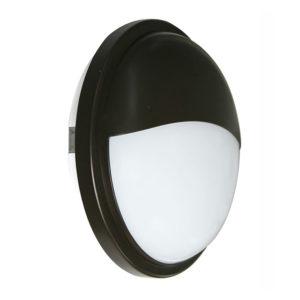 Black Exterior 20w Led Eyelid Bulkhead Lights