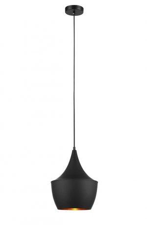 Caviar Angled Bell 1lt Pendant