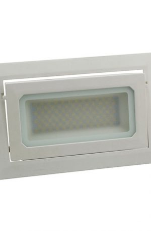 Shop 38w Rectangular Gimbal Adjustable Led Shop Downlights