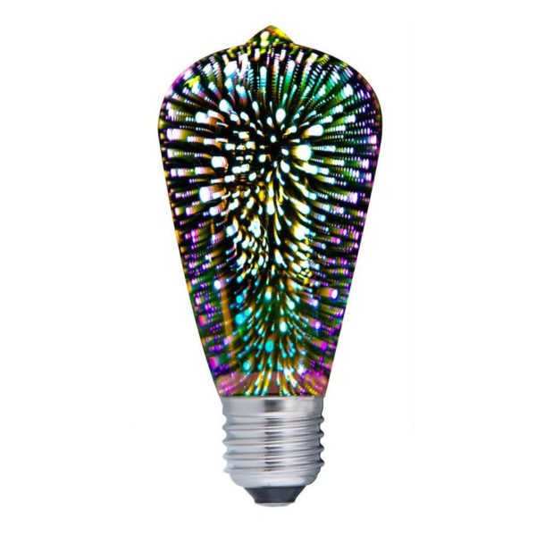 Pear Led Firework E27 Globe