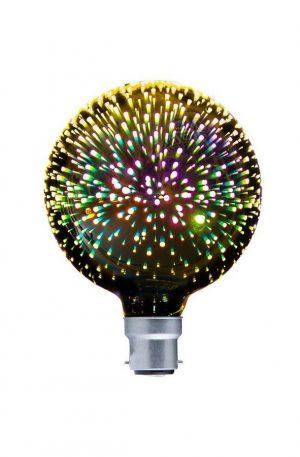 G125 Led Firework B22 Globe