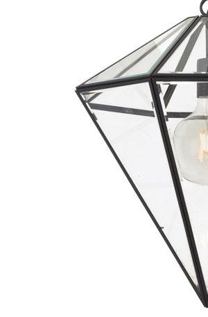Talia 1 Light Small Pendant - Cone Style Glass Pendant Light Detail