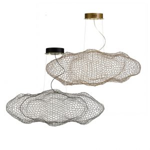 Kasha 2 Lights LED Pendant - Cloud Shape Pendant