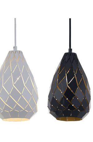 Simon 1 Light Small Pendant - Textile Shade Pendant Light