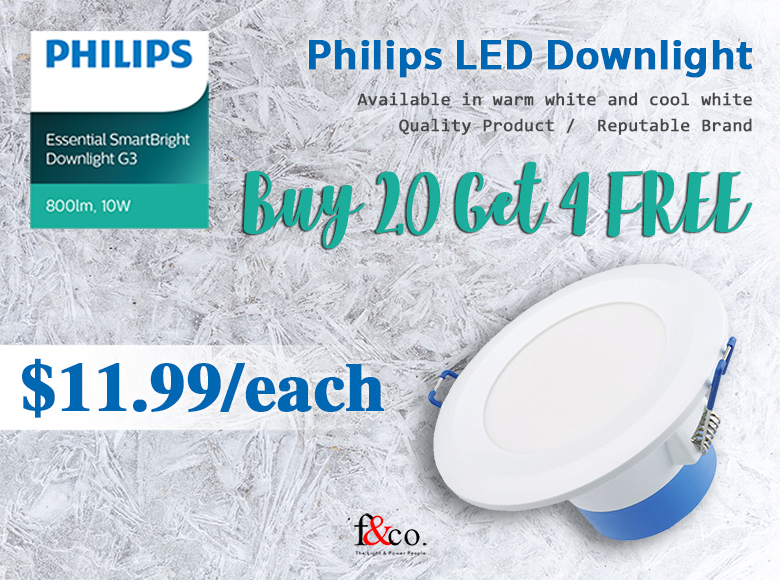 Philips Downlight Promo
